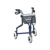 WALKER ROLLATOR 3 WHEEL+BASKET