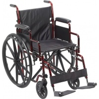WHEELCHAIR STEEL ARM/FOOT RES