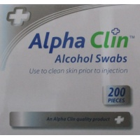 A/CLIN ALCOHOL SWABS 200