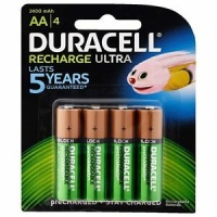 DURACELL RECHARGE AA 4