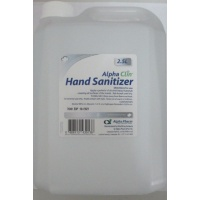 A/CLIN HAND SANITIZER 2.5L